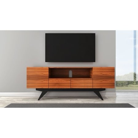 new arrival 880bf 46bef Furnitech Mid-Century Modern Console TV Stand