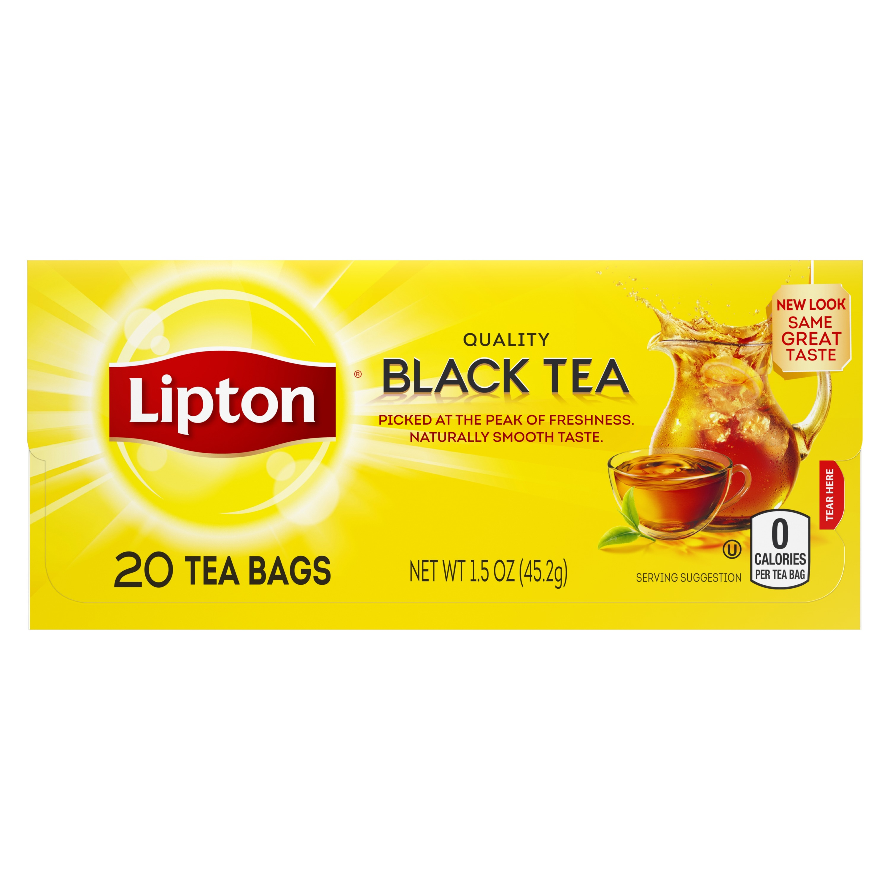 Lipton America's Favorite Tea Black Tea Bags, 20 ct