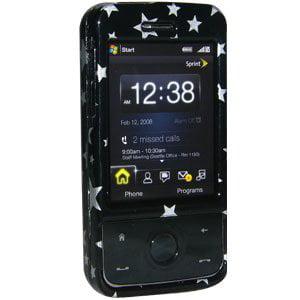 Premium Stars Black Snap On Hard Shell Case for Sprint HTC Touch Pro, HTC Touch Pro Htc Touch Black Snap