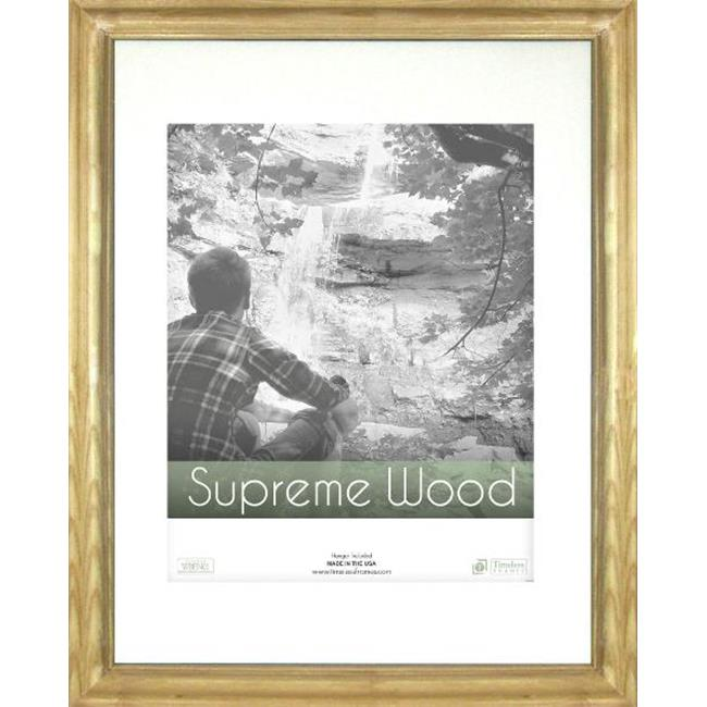 Timeless Frames 42024 Supreme Woods Natural Wall Frame, 14 x 18 in. by Timeless Frames