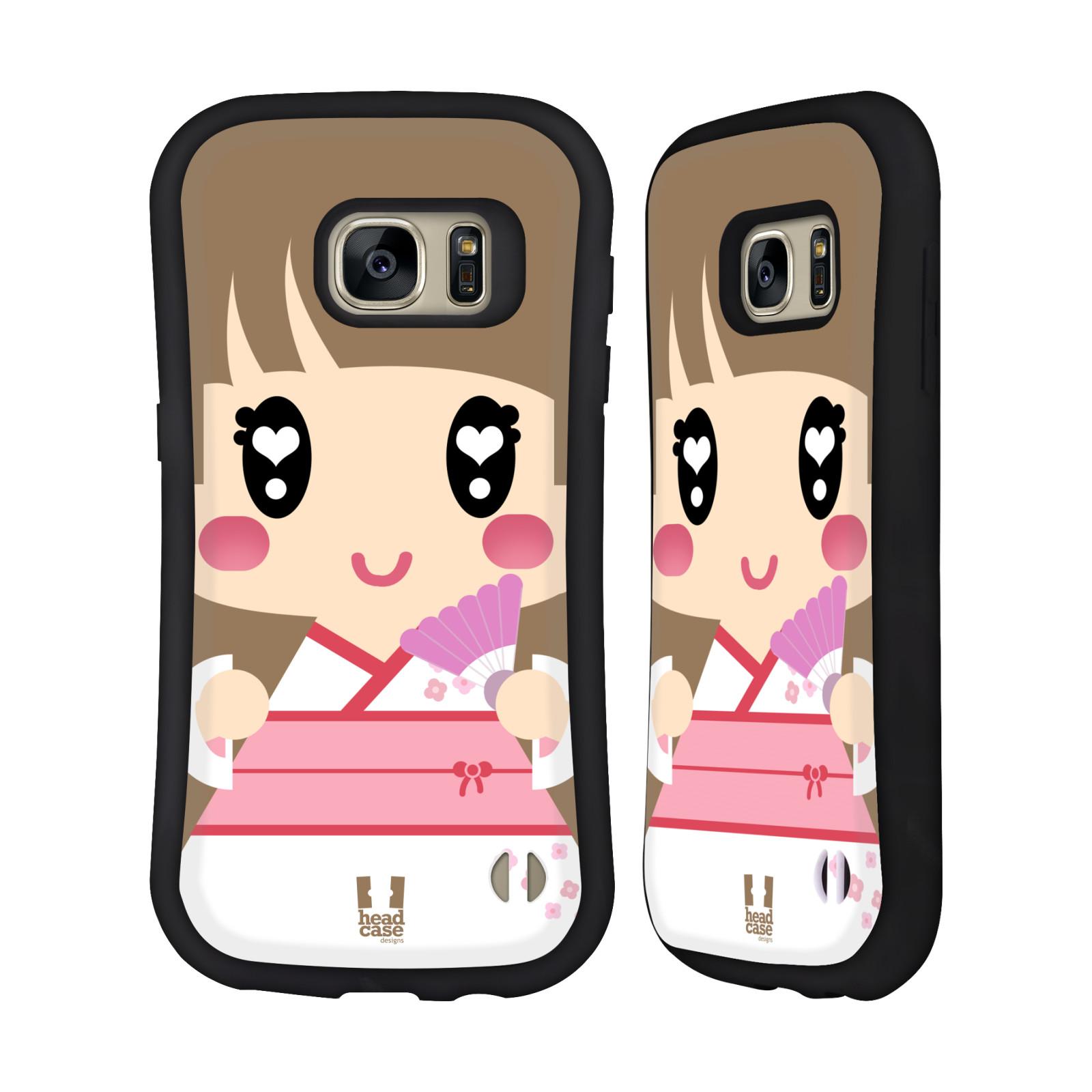 HEAD CASE DESIGNS KAWAII SERIES 1 HYBRID CASE FOR SAMSUNG PHONES