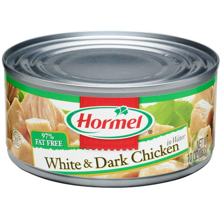 (3 Pack) Hormel Canned White and Dark Chunk Chicken, 10 (10 Ounce Ribeye)