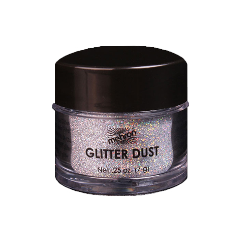 mehron GlitterDust - Holographic Silver