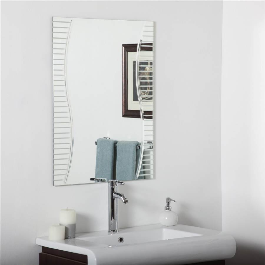 Ava Bathroom Mirror by Decor Wonderland of US