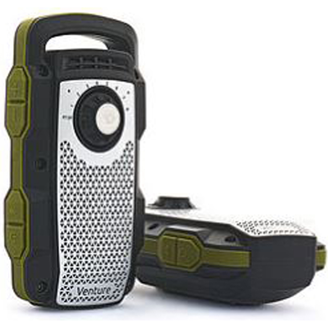 DREAMWAVE All-in-One Outdoor Portable Bluetooth Speaker and Walkie-Talkie 2-Way Radio (Single Unit)