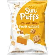 SunChips Sun Puffs Whole Grain Snacks, Four Cheese, 6 oz Bag