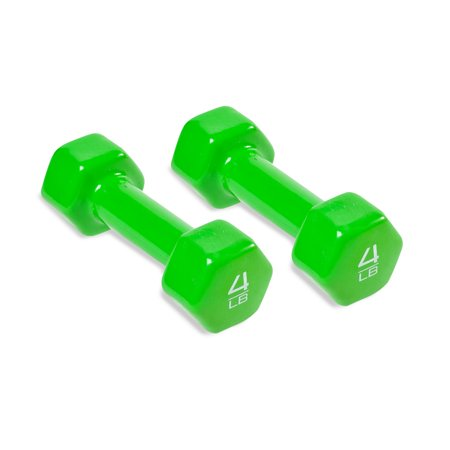 CAP Barbell Vinyl Coated Dumbbell, Pairs