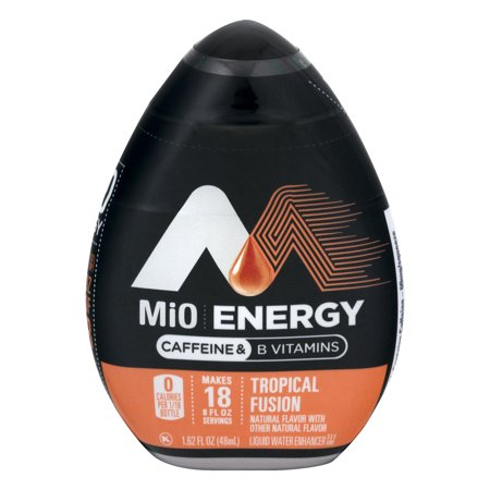 Mio Energy Liquid Water Enhancer  Tropical Fusion  1 62 Fl Oz  1 Count