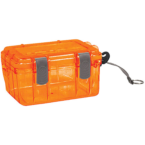 Outdoor Products Small Watertight Dry Box, Orange