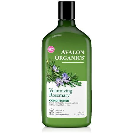 4 Pack - Avalon Organics Volumizing Conditioner, Rosemary  11 oz
