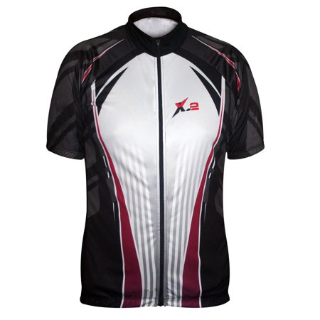 Stanford Cycling Jersey (Cycling Jersey | Cycling Clothing Mens | Mens Jersey Shirt | Short Sleeve Cycling Jersey On)