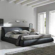 Rossetto Coco Platform Bed - Brown