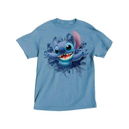Disney Adult Embossed Stitch Front & Back Tee Small