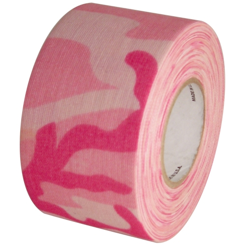 Camo Pink Cloth Hockey Stick Tape 2 inch x 20 yards
