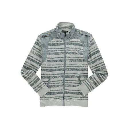 de44f7d7d5 I-N-C Mens Striped Fleece Jacket bluepearl XL | Walmart Canada