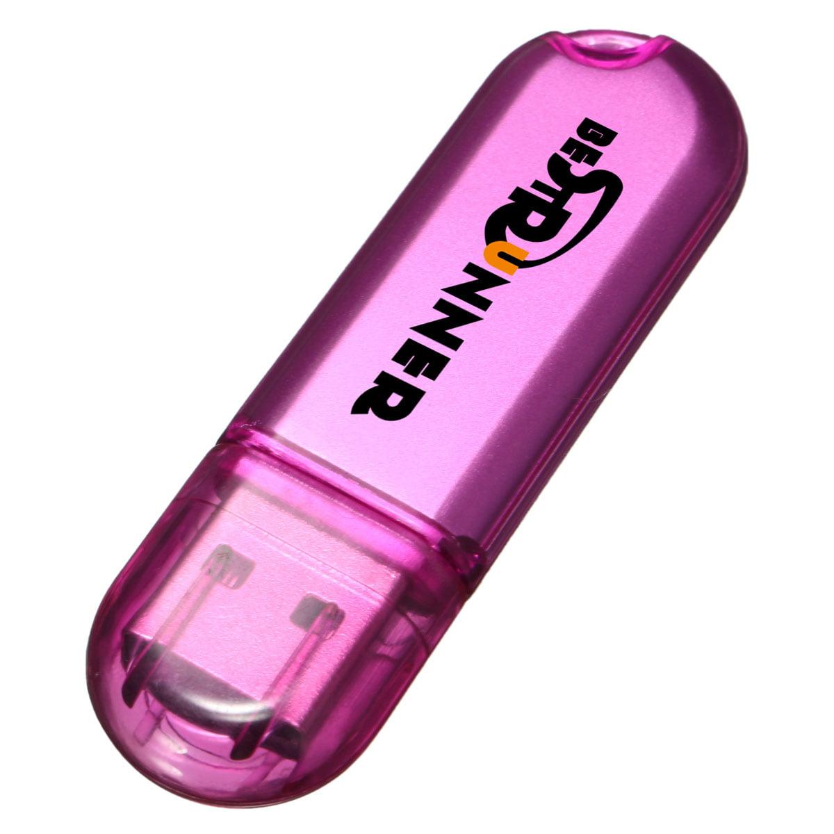 BESTRUNNER 32G USB 2.0 Flash Driver Memory Stick Storage Thumb Pen Disk,White color