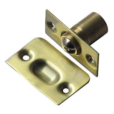 Closet Door Ball Catch Satinless Steel With Strike,1.38x2.13x1.18Inch Bronze