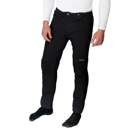 Venture Venture Men's 12 Volt Heated Pants Liner Black X-Small