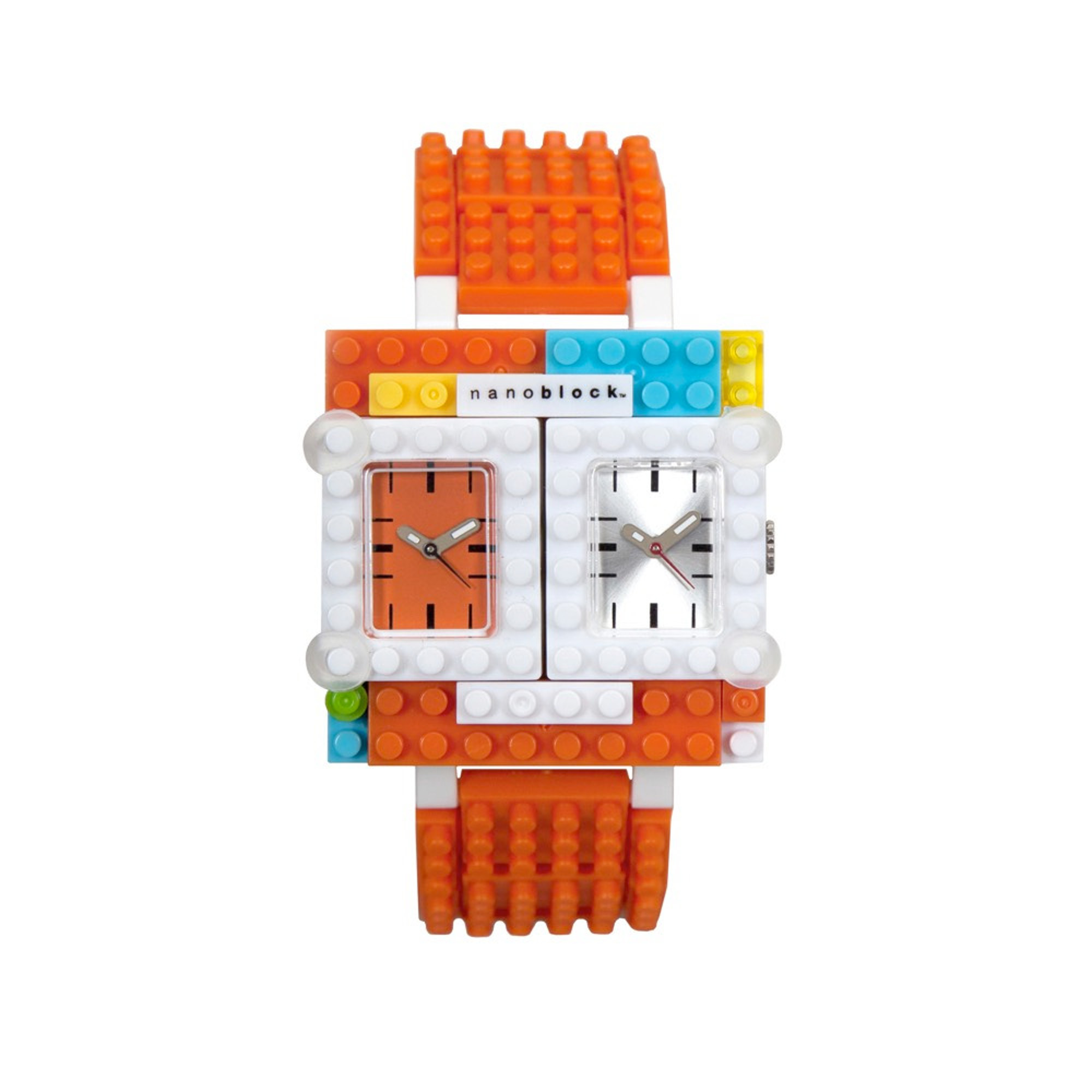 Nanoblocktime Traveler Watch, Orange by Beta Enteprises Inc.