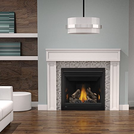 Napoleon B36TR 18000 BTU Built-In Direct Vent Natural Gas Fireplace with Safety