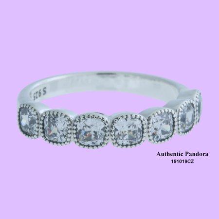 95a5d331d PANDORA - Authentic Alluring Cushion Ring, Clear CZ, 7.5 US, 191019CZ-56 -  Walmart.com