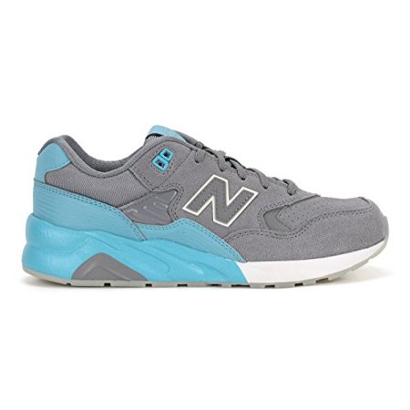 New Balance KL580URG:Classic 580 Elite GREY/Baby-Blue Casual Youth/Women Sneaker