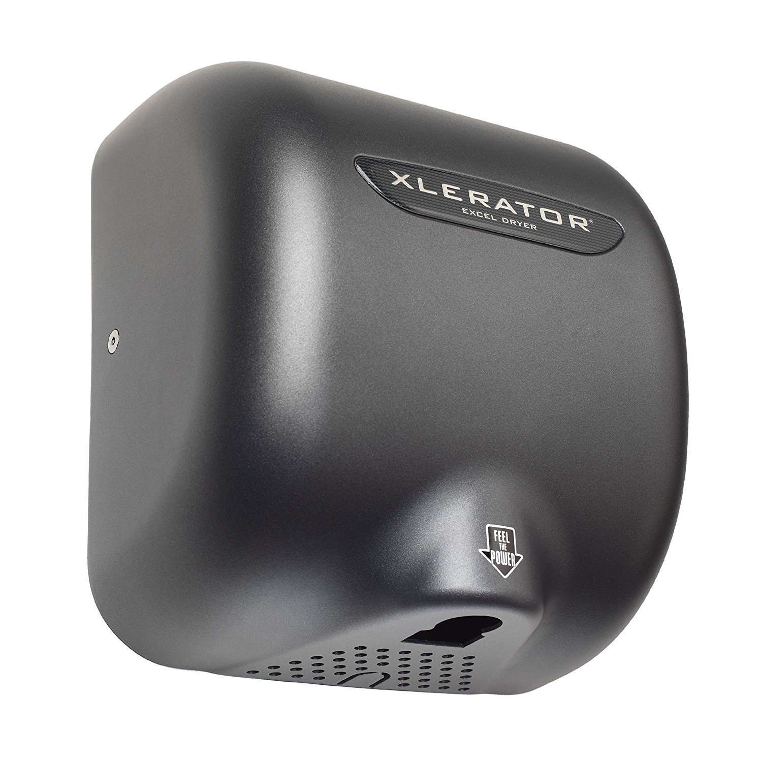 Excel Dryer XL-GR Xlerator Hand Dryer with 1.1 Noise Reduction Nozzle and Graphite Cover, 12.5 A, 110/120 V