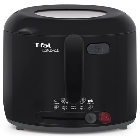 T-Fal Compact Deep Fryer in Black FF122851