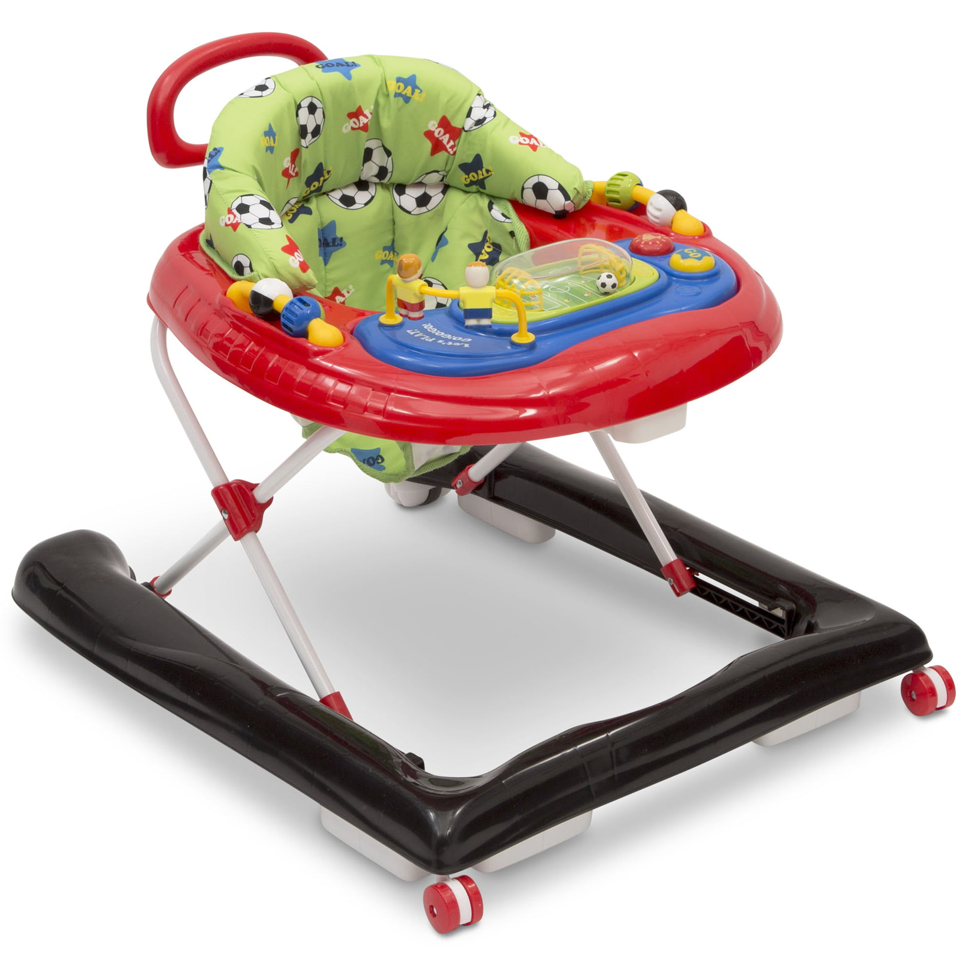 Delta Children Lil Goal Keeper 2-in-1 Baby Walker, Soccer by Delta Children