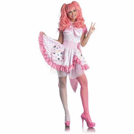 Harajuku Girl Adult Halloween Costume