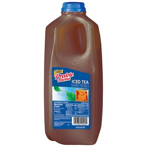 Prairie Farms Sweetened Ice Tea, Half Gallon