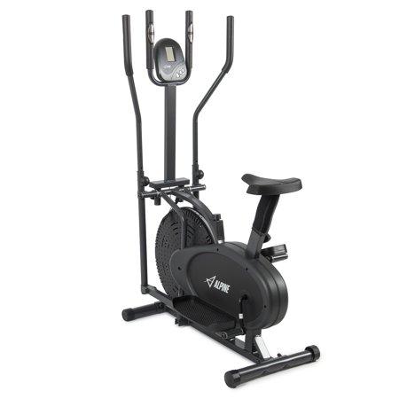 Akonza Elliptical Bike 2 IN 1 Cross Trainer Exercise Fitness Machine Upgraded Model