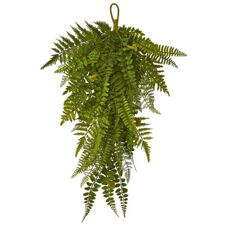 "28"" Fern Artificial Teardrop (Set of 2)"