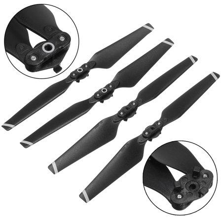 4pcs Quadcopter Drone 8330F Quick Release CW/CCW Folding Foldable Propeller Prop Set Kit Color: Black - image 7 de 9