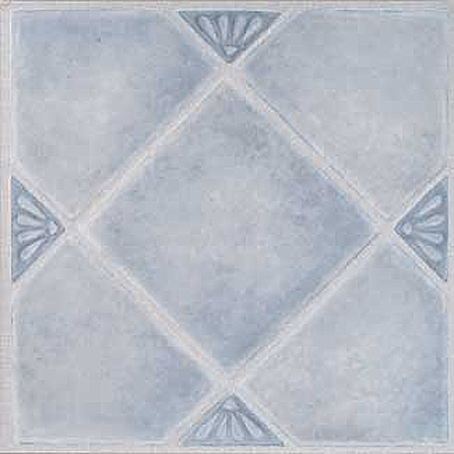 "Home Dynamix Madison Vinyl Tiles - 7984  Blue Diamonds (9-pack, 12"" x 12"")"