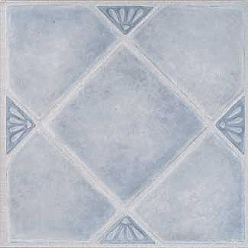 "Home Dynamix Madison Vinyl Tiles - 7984  Blue Diamonds (9-pack, 12"" x 12"")"