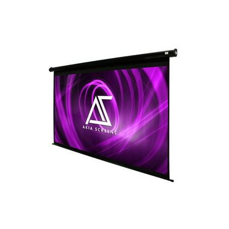 Elite Screens Akia Motorized 8K/4K Ultra HD 3D Ready Wall/Ceiling Mounted Electric White 104'' Electric Projection Screen 110' Motorized Projection Screen