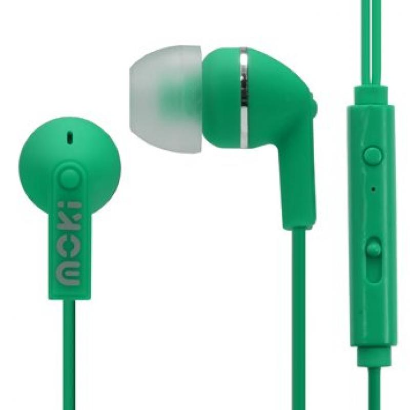 Moki Noise Iso Dots with Mic & Control - Green