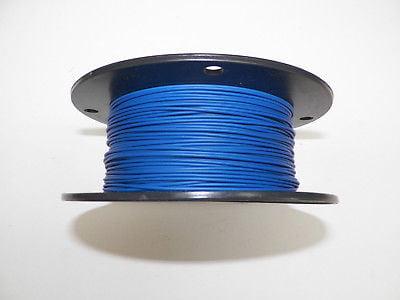 22 TXL HIGH TEMP AUTOMOTIVE WIRE 100 FOOT SPOOL OF BLUE
