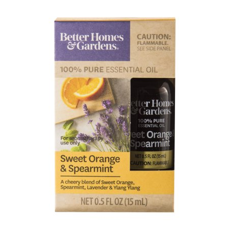 Better Homes & Gardens 15 mL 100% Pure Sweet Orange & Spearmint Essential Oil Blend](Sweet 15 Themes Ideas)