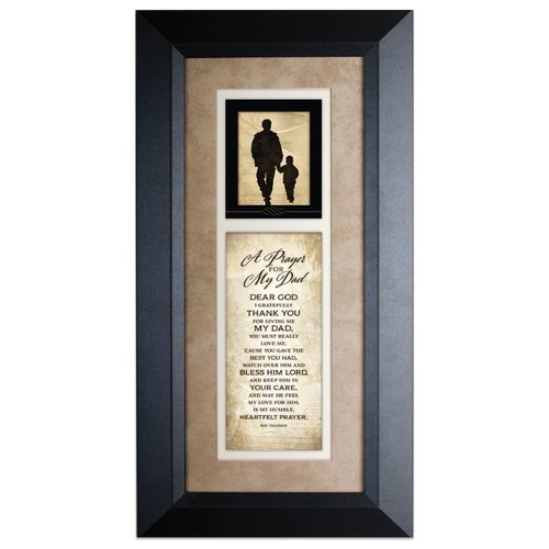 The James Lawrence Company 'Prayer For My Dad' Framed Textual Art