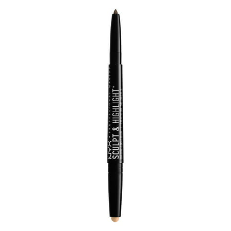 NYX Professional Makeup Sculpt & Highlight Brow Contour, Brunette Cream