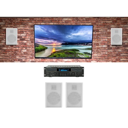 Technical Pro RX113 Home Theater Amplifier Receiver+4) 5 25