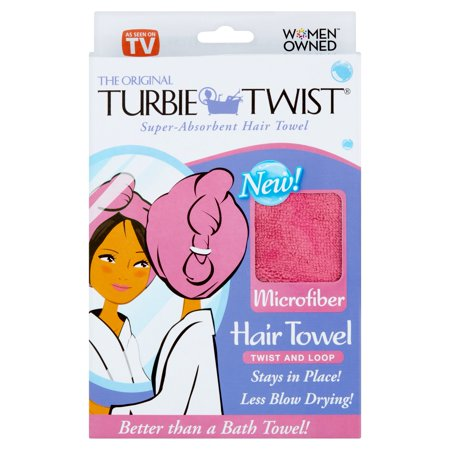 Turbie Twist The Original Microfiber Hair Towel ()