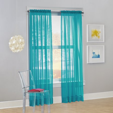No. 918 Calypso Sheer Voile Rod Pocket Curtain (428 Sheer)
