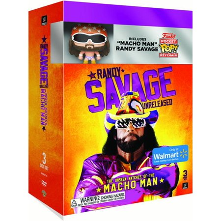 WWE: Randy Savage Unreleased - The Unseen Matches of The MachoMan/Randy Savage Mini Funko (Wwe Hell In A Cell Matches Videos)
