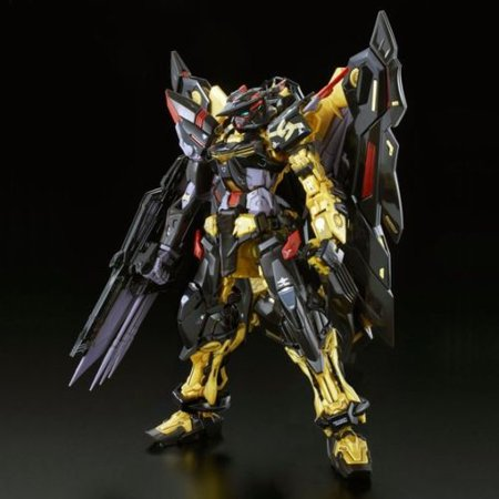 Premium Bandai P-BANDAI Gundam Astray Gold Frame Amatsu RG 1/144 Model