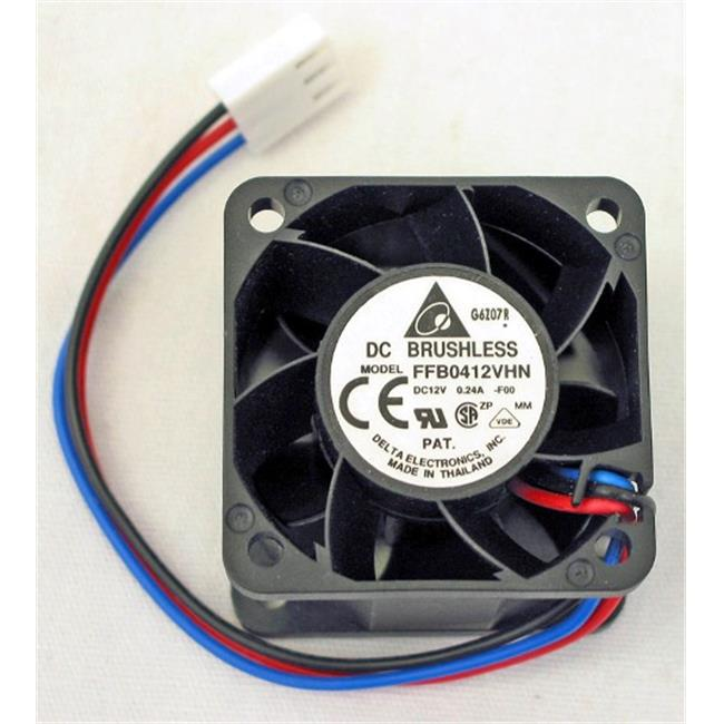 Delta 23-4028-02 40 x 40 x 28 mm. Ball Bearing Cooling Fan