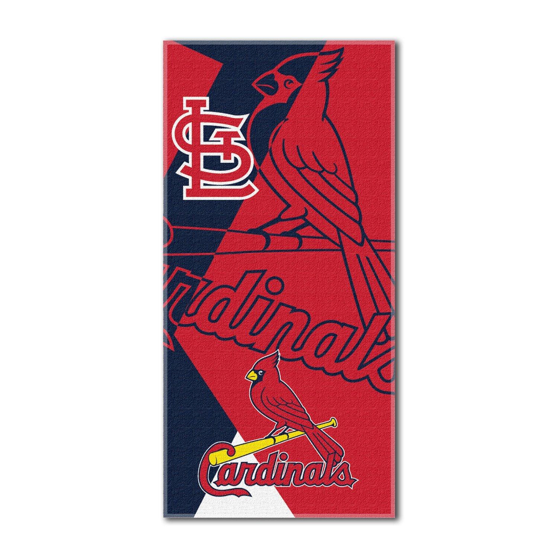 Northwest St Louis Cardinals MLB Puzzle Series 34X72 Cott...