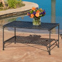 Abilene Black Iron Coffee Table